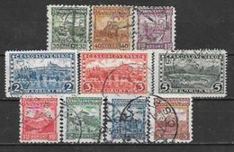 Tchécoslovaquie N°  222/26 228 233 234 235 237 YVERT OBLITERE - Czechoslovakia