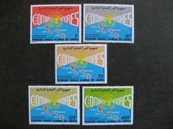 Comores:  TB Série N° 426 Au N°430, Neufs XX. - Comores (1975-...)