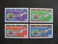 Comores:  TB Série N° 431 Au N°434, Neufs XX. - Comores (1975-...)