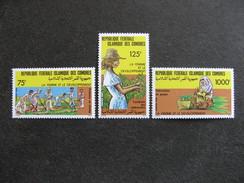 Comores:  TB Série N° 447 Au N°449, Neufs XX. - Comores (1975-...)