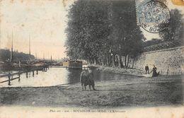 Boulogne Billancourt Péniche Colorisée - Boulogne Billancourt