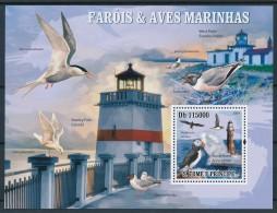 Sao Tomé-et-Principe 2004 - Phares Et Oiseaux Marins - Phares