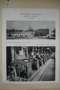 37 LOCHES Publicité MINOTERIES LOCHOISES Jacques VERSEUX 1950 Indre Et Loire - Reclame