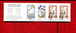 476843801 AUSTRALIA 1986 ** MNH SCOTT BOOKLET PANE 996B  YVERT C969-2 - 1980-89 Elizabeth II