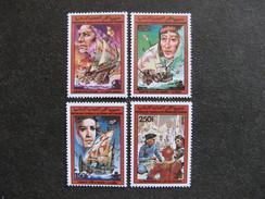Comores:  TB Série N° 468 Au N°471, Neufs XX. - Comores (1975-...)