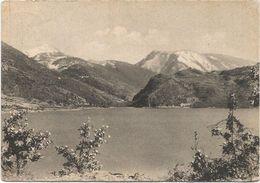 Z4992 Scanno (L'Aquila) - Panorama Del Lago / Viaggiata 1955 - Italie