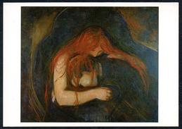 A7280 - Alte Künstlerkarte - Edvard Munch - Vampyr TOP - Illustrators & Photographers