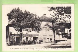 Sainte Martin D' URIAGE - Restaurant De La PLACE , Propriétaire Mr Cornut - Animé - TBE  - 2 Scans - Uriage