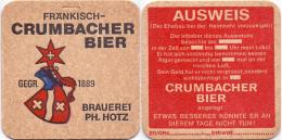 #D164-057 Viltje Crumbacher - Sous-bocks