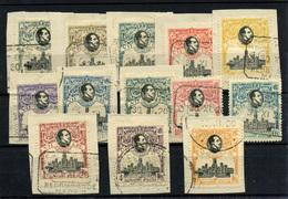 1245-España Nº 297/309 - 1889-1931 Royaume: Alphonse XIII