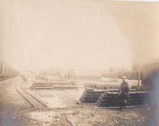 Photo Guerre 1914 1918 WwI  Cerisy Gailly ( Somme )  Depot De Munition 1916 - Guerra, Militares