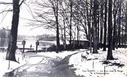 #&  Lyon - Le Parc Sous La Neige  - L'Embarcadère - Lyon