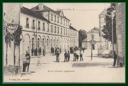 CPA Dos 1900 Champlitte Ecole Primaire Supérieure Non écrite Animée TB - Other Municipalities