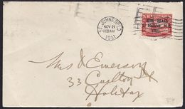 """1921. ST JOHNS TO HALIFAX MAILING ESSAY. WITHOUT """"."""" AFTER """"1921"""". VERY FINE. - Autres"""