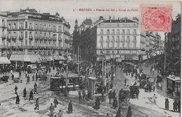 1913 MADRID - Puerta Del Sol, Hotel De Paris - Madrid