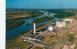 Cpsm -    Avoine - La Centrale Nucléaire ,au Bord De La Loire   V1272 - Frankreich