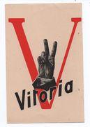CARTE DE PROPAGANDE VICTORIA - Patriotiques