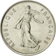 France, Semeuse, 5 Francs, 1986, Paris, FDC, Nickel Clad Copper-Nickel - France