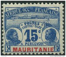 Mauritanie (1906) Taxe N 11 * (charniere) - Mauritanie (1906-1944)