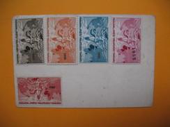 Carte De Membre Philatélie  Vignette  1947 Et 1949 à 1952 - Cartes