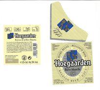 "Etiquette De BIERE BELGE "" HOEGAARDEN "" (Modèle N°3) - Beer"
