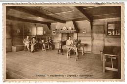 Zoersel - Jeugdherberg Gagelhof (Binnenzicht) - Circulée En 1940 - Uitg. C. Bergsneider, Gagelhof - 2 Scans - Zoersel