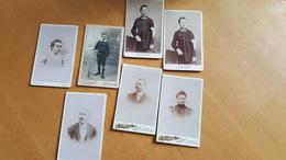 Lot De 7 Photographies - CDV - Très Bon état. - Anciennes (Av. 1900)