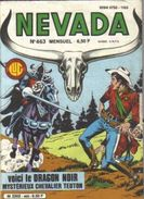 NEVADA  °°°° N° 463  FEVRIER 1986 - Nevada