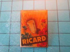 Pin911c Pin's Pins : Rare Et Belle Qualité : ANCIENNE PUBLICITE RICARD APERITIF ANISETTE , Marquage Au Dos : - ---  - - Beverages