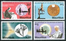 1978  Mauritius Sir Alexsander Fleming 50th Anniversary Of The Discovery Of Penicillin Sanità Health Santé MNH** Nu75 - Mauritius (1968-...)