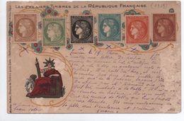 REPRESENTATION  DE TIMBRES - CERES (ETAT) - Briefmarken (Abbildungen)