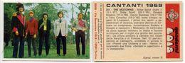 083> THE MOTOWNS Figurina < CANTANTI EDIS 1969 > - Musica & Strumenti
