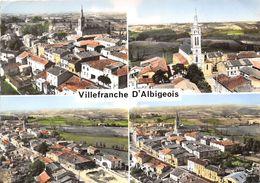 81-VILLEFRANCHE-D'ALBIGEOIS - MULTIVUES - Villefranche D'Albigeois