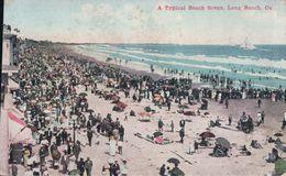 A Typical Beach Scene, Long Beach - Long Beach