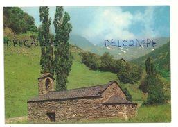 Valls D'Andorra. Arinsal. Eglise De Style Roman Au Fond Coma Pedrose - Andorre