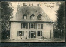 CPA - MONT SOUS VAUDREY - Château J. Grévy, Ancien Président De La République, Animé  (dos Non Divisé) - Frankreich