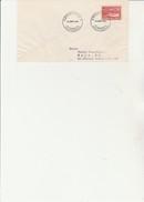DANEMARK - TIMBRE CROIX ROUGE N° 343 SUR LETTRE OBLITERE CAD KOBENHAVN V  - ANNEE 1951 - Affrancature Meccaniche Rosse (EMA)