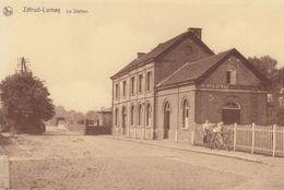 17/9 Zetrud Lumay Jodoigne  Brabant Wallon Gare Station Copie - Gares - Sans Trains