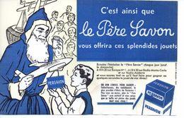 Buvard Persavon. Cadeaux  Du Père Savon - Produits Ménagers