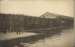49 - SAUMUR - Carte Photo Des Inondations - Gare De L'Etat - Saumur