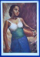 12595 Sumardi Portrait. Indonesia - Malerei & Gemälde