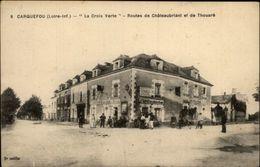 44 - CARQUEFOU - La Croix-Verte - Routes De Châteaubriant Et De Thouaré - 8 - Carquefou