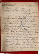 Courrier Malatto & Cie Italie Piazza Pinelli Genova Gènes 19-12-1896 - écrit En Français - Italie