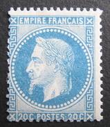 LOT R1597/2 - NAPOLEON III Lauré N°29A - NEUF* - Cote : 475,00 € - 1863-1870 Napoleon III With Laurels