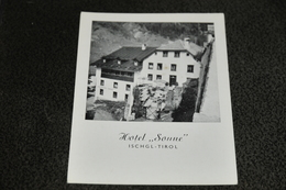 """1244- Hotel """"Sonne"""" , Ischl-Tirol - Ischgl"""