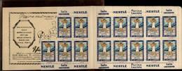 SANTE - Carnet Presque Complet - Timbres Antiberculeux - NESLE - Tuberculose - Commemorative Labels
