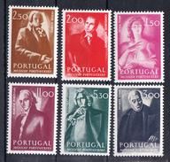 PORTUGAL.1974. MUSICOS PORTUGUESES  AFINSA Nº 1224/1229.  NOVOS SEM CHARNEIRA .CECI 2 Nº 84 - Nuevos