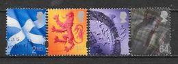 Grande Bretagne  N° 2106/09 YVERT OBLITERE - Usati