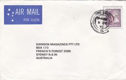 Hong Kong  1993 Cover Sent To Australia, Queen Elizabeth II $ 2,30 Stamp Affixed - Hong Kong (...-1997)