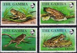 GAMBIA 1982 Frogs, Amphibians, Fauna MNH - Gambia (1965-...)